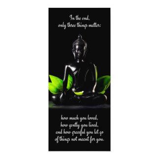 仏の引用文3のカード/招待 カード