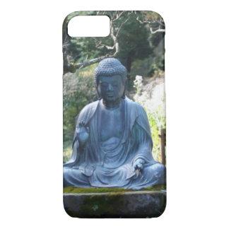 仏の彫像のめい想 iPhone 8/7ケース