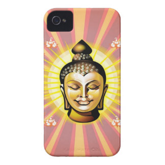 仏の微笑のiphone 4ケース Case-Mate iPhone 4 ケース