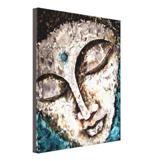 仏の水彩画の包まれたなキャンバスのプリント10x12 キャンバスプリント