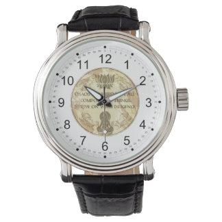 仏の無秩序は備わっています 腕時計