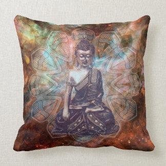 仏の禅の精神的な啓発の正方形の枕 クッション