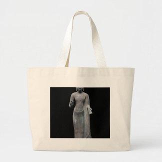 仏の説教 ラージトートバッグ
