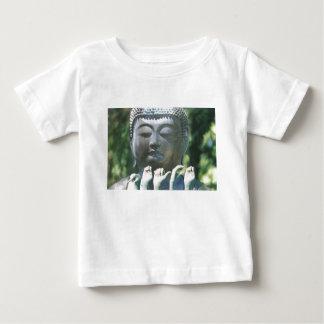 仏の頭部及び平和ASL ベビーTシャツ