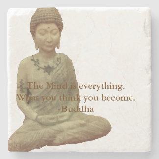 仏は心すべて石のコースターです ストーンコースター