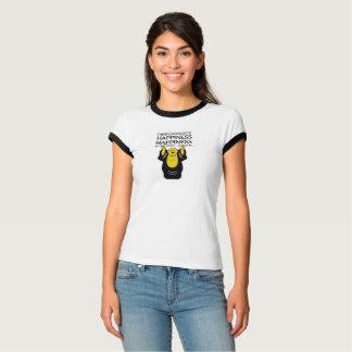 仏は知っています: 道は幸福へ…ありません Tシャツ