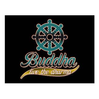 仏はDharma住んでいます ポストカード