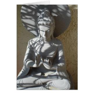 仏仲介する精神的な啓発カード カード