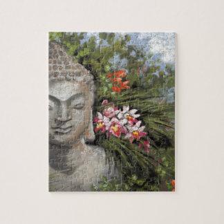 仏及びジャングルの花 ジグソーパズル