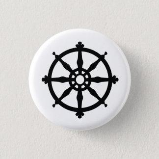 仏教の宗教記号 3.2CM 丸型バッジ