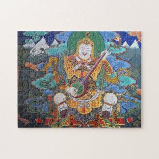 仏教のdzongの芸術 ジグソーパズル