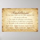 仏教4および8 ポスター