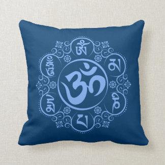 仏教OmマニPadmeのハム雑音の信念 クッション