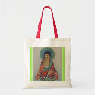 仏治療のバッグ トートバッグ