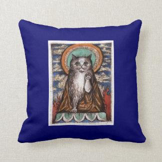 仏猫の装飾用クッション クッション