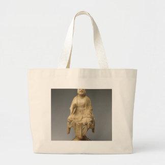 仏-唐朝(618-907) ラージトートバッグ
