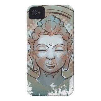 仏(白い) (iPhone 4S) Case-Mate iPhone 4 ケース