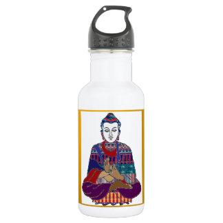 仏Mahatmaの仏教親切なNVN633愛ライト ウォーターボトル
