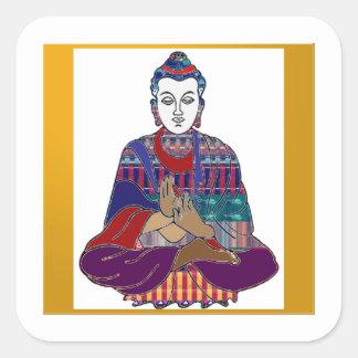 仏Mahatmaの仏教親切なNVN633愛ライト スクエアシール