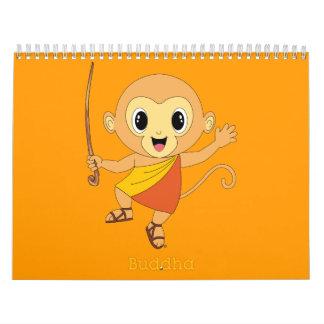 仏Monkey™のカレンダー カレンダー