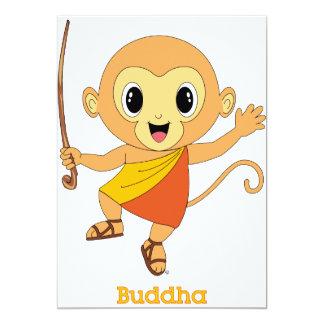 仏Monkey™の招待状 カード