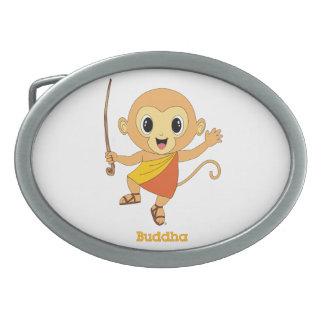 仏Monkey™ 卵形バックル
