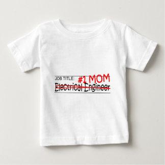 仕事のお母さんの電気技師 ベビーTシャツ