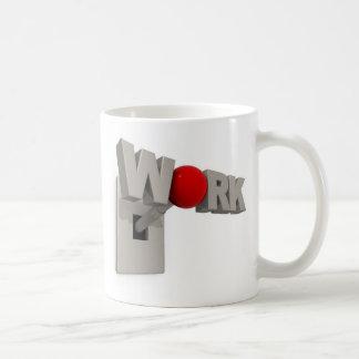 仕事のやる気を起こさせるなマグ コーヒーマグカップ