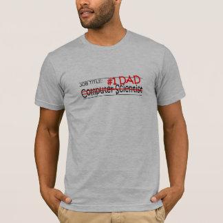 仕事のパパComp Sci Tシャツ