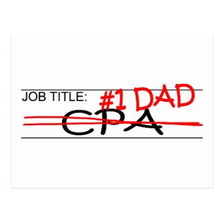 仕事のパパCPA ポストカード