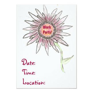 仕事のパーティの招待状 カード