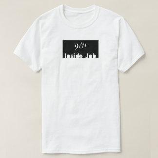 仕事の中の9/11の窓 Tシャツ