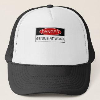 仕事の危険の天才 キャップ
