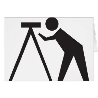 仕事の土地の検査官 カード