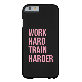 仕事の堅いフィットネスのやる気を起こさせるな引用文のiPhone6ケース Barely There iPhone 6 ケース
