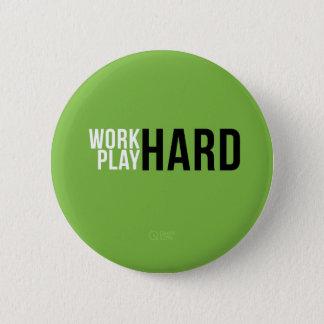 仕事の堅い演劇の懸命ボタン 5.7CM 丸型バッジ