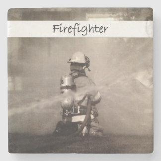 仕事の消防士 ストーンコースター