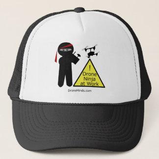 仕事の無人機の忍者 キャップ