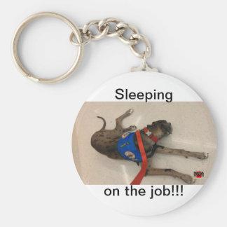 仕事の睡眠 キーホルダー