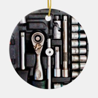 仕事の道具箱-産業プリント セラミックオーナメント