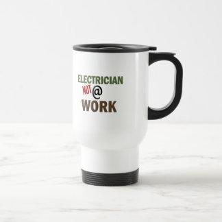 仕事の電気技師ない トラベルマグ