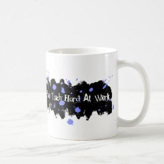 仕事の青のエコーの技術の懸命 コーヒーマグカップ