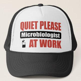 仕事の静寂の細菌学者 キャップ