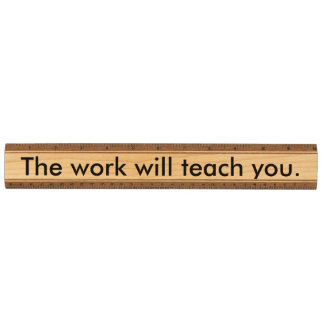 仕事は教えます メープル 定規