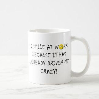 仕事は熱狂するな私を運転しました コーヒーマグカップ