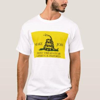仕事を作って下さい Tシャツ