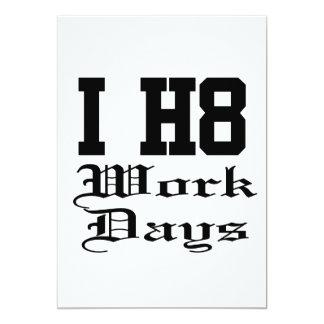 仕事日 カード