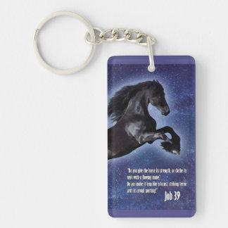 仕事39の馬Keychain キーホルダー