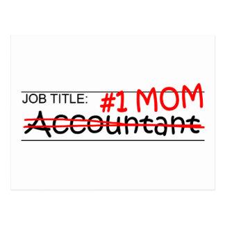 仕事#1のお母さんの会計士 ポストカード