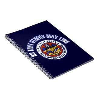 他が住むように-沿岸警備隊の救助 ノートブック